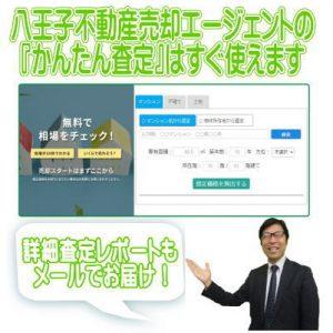 八王子市だけでなく日本全国の不動産の査定がかんたんにできますよ